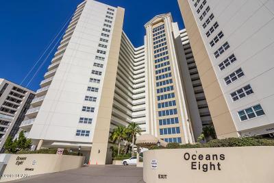 Daytona Beach Shores Condo/Townhouse For Sale: 2937 S Atlantic Avenue #601