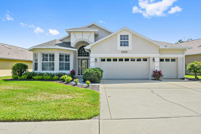 Port Orange Single Family Home For Sale: 1203 Siesta Key Circle