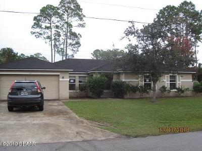 Palm Coast Single Family Home For Sale: 39 Ryecliffe Drive