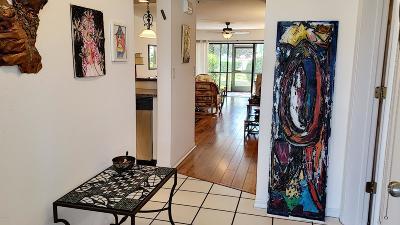 New Smyrna Beach Condo/Townhouse For Sale: 445 Bouchelle Drive #104