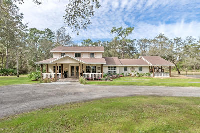 Ormond Beach Single Family Home For Sale: 430 Pine Bluff Trail