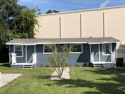 Daytona Beach Multi Family Home For Sale: 528 Live Oak Avenue
