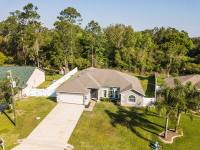 Palm Coast FL Single Family Home For Sale: $257,900