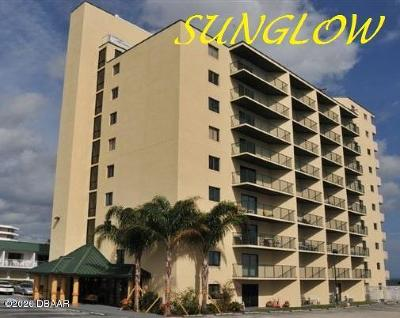 Daytona Beach Shores Condo/Townhouse For Sale: 3647 S Atlantic Avenue #3B