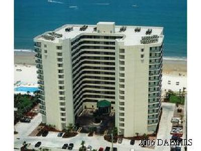 Daytona Beach Shores Condo/Townhouse For Sale: 2055 S Atlantic Avenue #1006