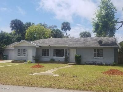 Holly Hill Single Family Home For Sale: 180 Highland Avenue