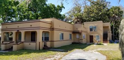 Daytona Beach Multi Family Home For Sale: 502 Fremont Avenue