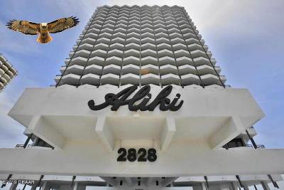 Daytona Beach Condo/Townhouse For Sale: 2828 N Atlantic Avenue #703