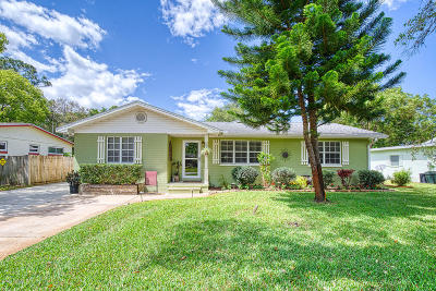 Ormond Beach Single Family Home For Sale: 215 Greenwood Avenue