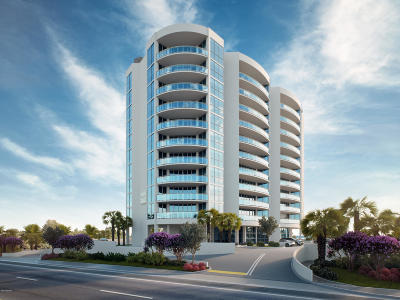 Daytona Beach Shores Condo/Townhouse For Sale: 1901 S Atlantic Avenue #501