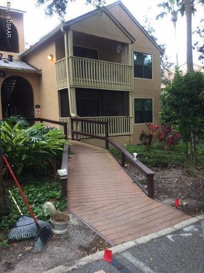 Daytona Beach Condo/Townhouse For Sale: 1401 S Palmetto Avenue #421