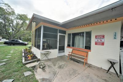 Holly Hill Single Family Home For Sale: 346 Clifton Avenue