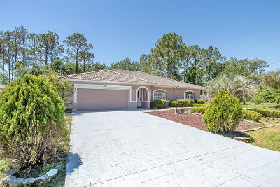 Palm Coast Single Family Home For Sale: 40 Pennypacker Lane