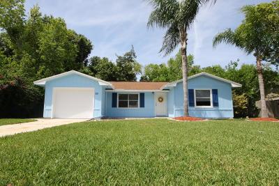Ormond Beach Single Family Home For Sale: 80 Pine Trail