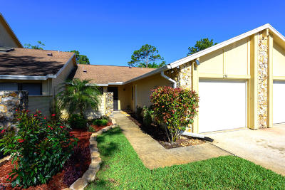 Volusia County Attached For Sale: 236 Surf Scooter Drive