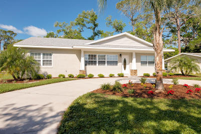 Flagler Beach Single Family Home For Sale: 230 Palm Drive