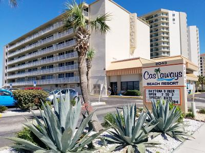 Daytona Beach Shores Condo/Townhouse For Sale: 2043 S Atlantic Avenue #314
