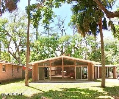 Flagler Beach Single Family Home For Sale: 340 Palm Drive