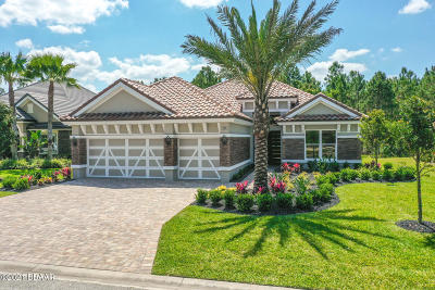 Plantation Bay Single Family Home For Sale: 708 Woodbridge Court
