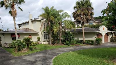 Ormond Beach Single Family Home For Sale: 518 Riverside Drive