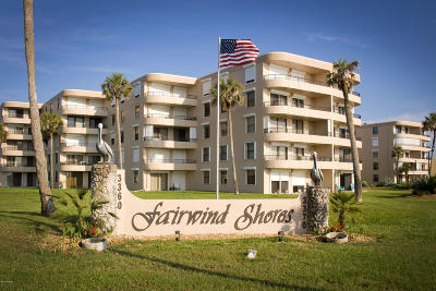 Ormond Beach Condo/Townhouse For Sale: 3360 Ocean Shore Boulevard #107