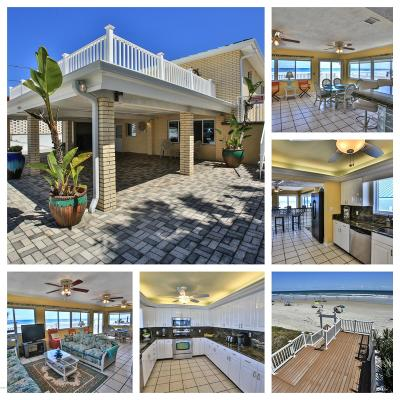 Ponce Inlet, South Daytona, Wilbur-by-the-sea Single Family Home For Sale: 4209 S Atlantic Avenue