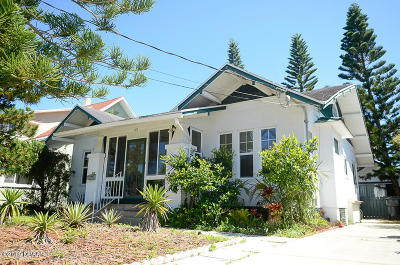 Daytona Beach Single Family Home For Sale: 312 Goodall Avenue