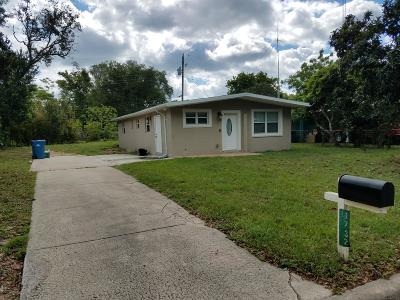 Daytona Beach Single Family Home For Sale: 1732 Montgomery Drive