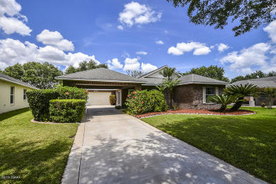 Port Orange Single Family Home For Sale: 4093 Clock Tower Drive