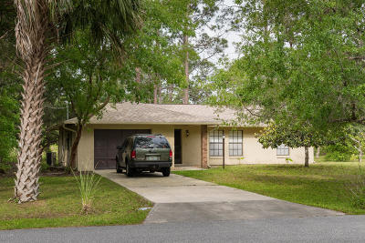 Palm Coast Single Family Home For Sale: 15 Utica Path