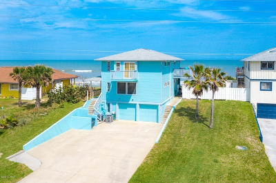 Flagler Beach Multi Family Home For Sale: 3373 N Ocean Shore Boulevard