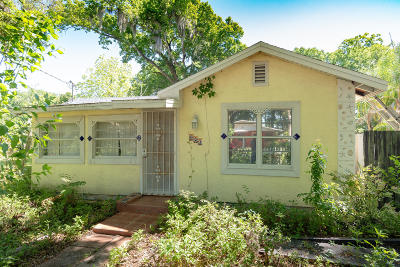 Daytona Beach Single Family Home For Sale: 621 Cassin Avenue