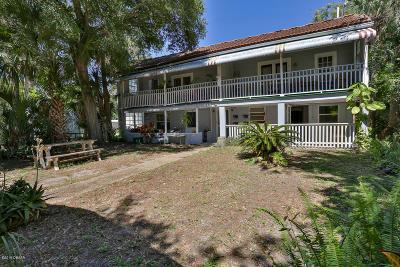 Daytona Beach Multi Family Home For Sale: 412 N Oleander Avenue