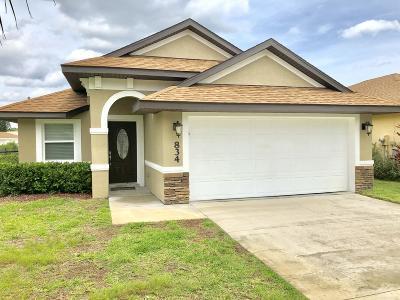 Port Orange Single Family Home For Sale: 834 Angelina Court