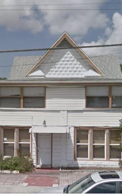 Daytona Beach Multi Family Home For Sale: 207 N Peninsula Drive