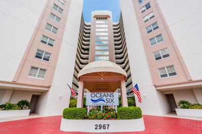 Daytona Beach Shores Condo/Townhouse For Sale: 2967 S Atlantic Avenue #502