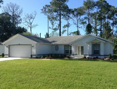 Palm Coast Single Family Home For Sale: 121 Raemoor Drive