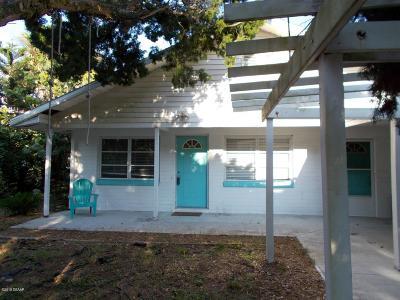 New Smyrna Beach Single Family Home For Sale: 1202 Beacon Street
