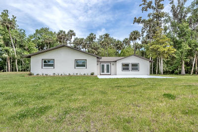 New Smyrna Beach Single Family Home For Sale: 1279 Bolton Road