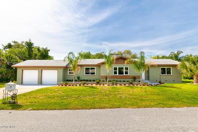 Daytona Beach Single Family Home For Sale: 7 Sunset Terrace