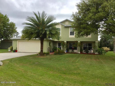 Palm Coast Single Family Home For Sale: 14 Burnley Place