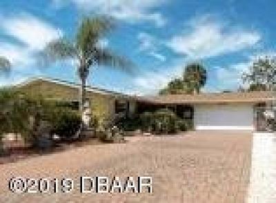 Daytona Beach Single Family Home For Sale: 2919 N Peninsula Drive
