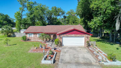 Holly Hill Single Family Home For Sale: 1122 Woodside Drive