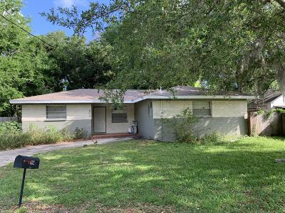 Holly Hill Single Family Home For Sale: 602 Center Lane
