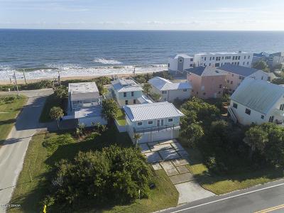 Volusia County Single Family Home For Sale: 6802 S Atlantic Avenue