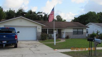 Port Orange Single Family Home For Sale: 15 Woodlake Drive