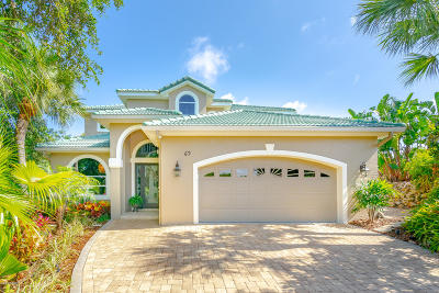 Ponce Inlet, South Daytona, Wilbur-by-the-sea Single Family Home For Sale: 69 S Turn Circle