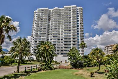 Daytona Beach Shores Condo/Townhouse For Sale: 2 Oceans West Boulevard #1409