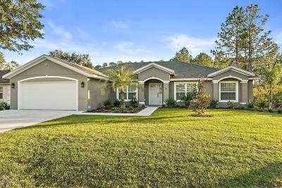 Palm Coast Single Family Home For Sale: 16 Smoke Tree Place