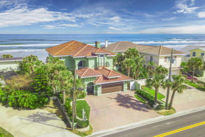 Ponce Inlet, South Daytona, Wilbur-by-the-sea Single Family Home For Sale: 4217 S Atlantic Avenue